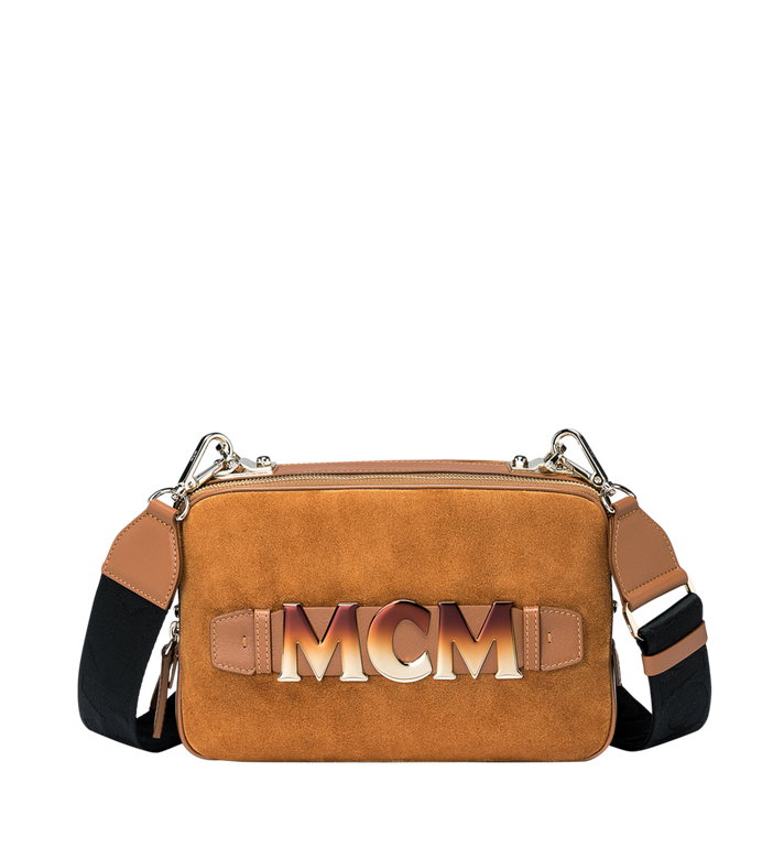 MCM Cubism Crossbody in Suede MWR8AXC16CO001 AlternateView