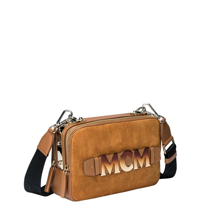 MCM Cubism Crossbody in Suede MWR8AXC16CO001 AlternateView2
