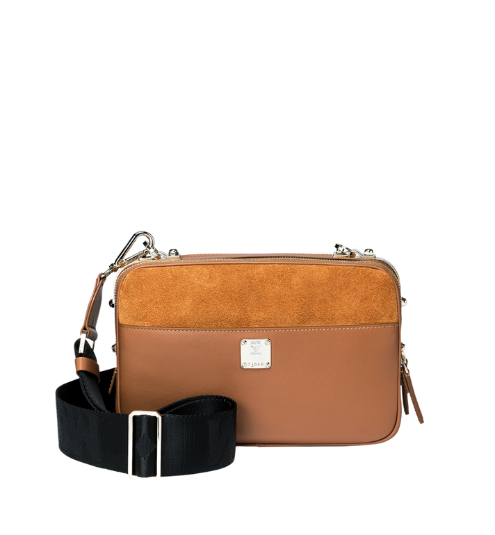 MCM Cubism Crossbody in Suede MWR8AXC16CO001 AlternateView4