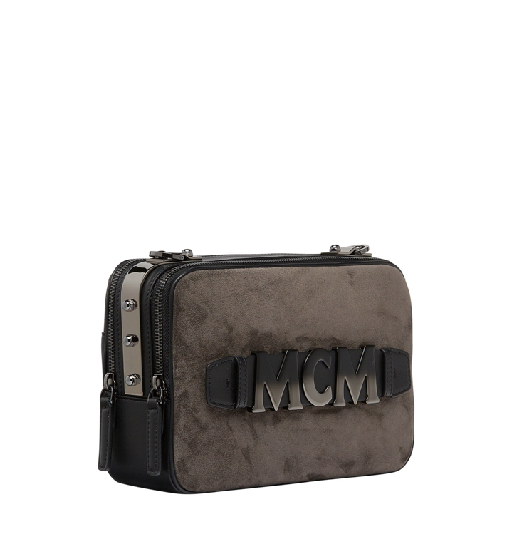 MCM Cubism Crossbody in Suede MWR8AXC16EP001 AlternateView2