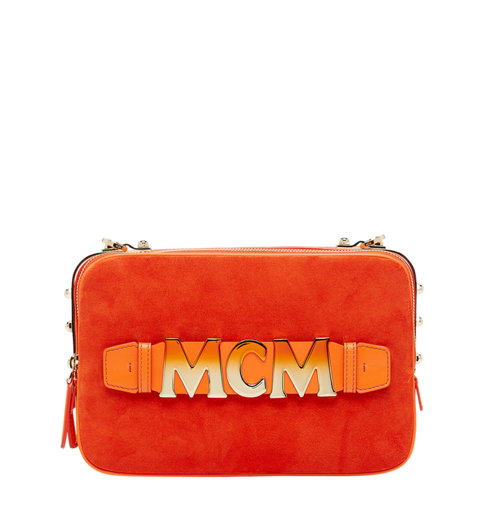MCM Cubism Crossbody in Suede MWR8AXC16OD001 AlternateView