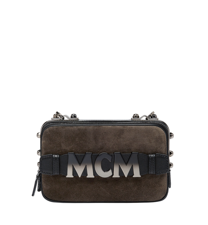 MCM Cubism Crossbody in Suede Alternate View