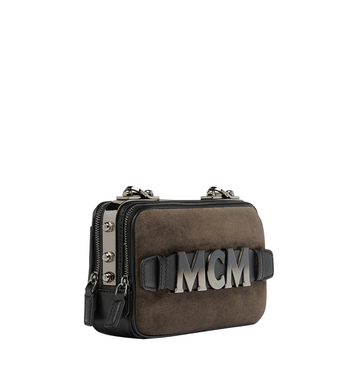 MCM Cubism Crossbody in Suede  MWR8AXC17EP001 Alternate View 2