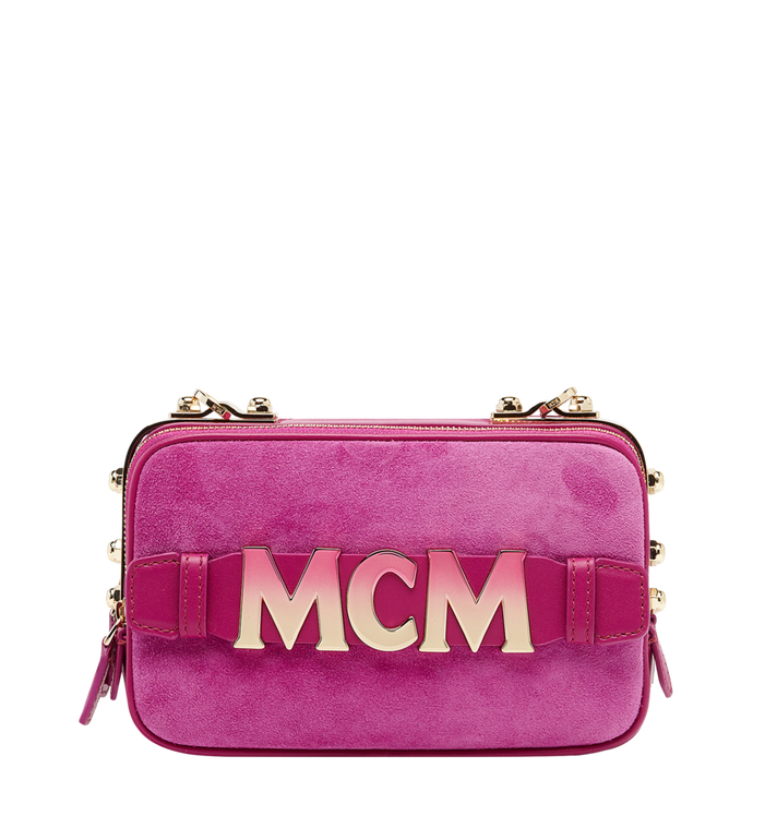MCM Cubism Crossbody in Suede MWR8AXC17UK001 AlternateView