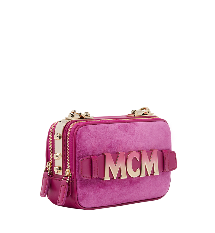 MCM Cubism Crossbody in Suede  MWR8AXC17UK001 Alternate View 2
