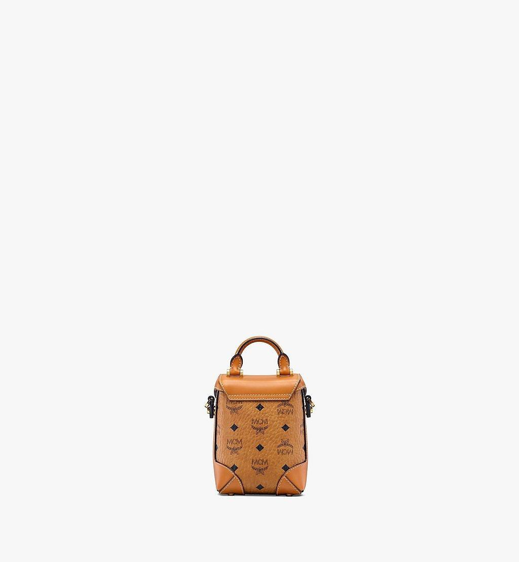 MCM Soft Berlin Crossbody-Tasche in Visetos Cognac MWR9ABF14CO001 Noch mehr sehen 2