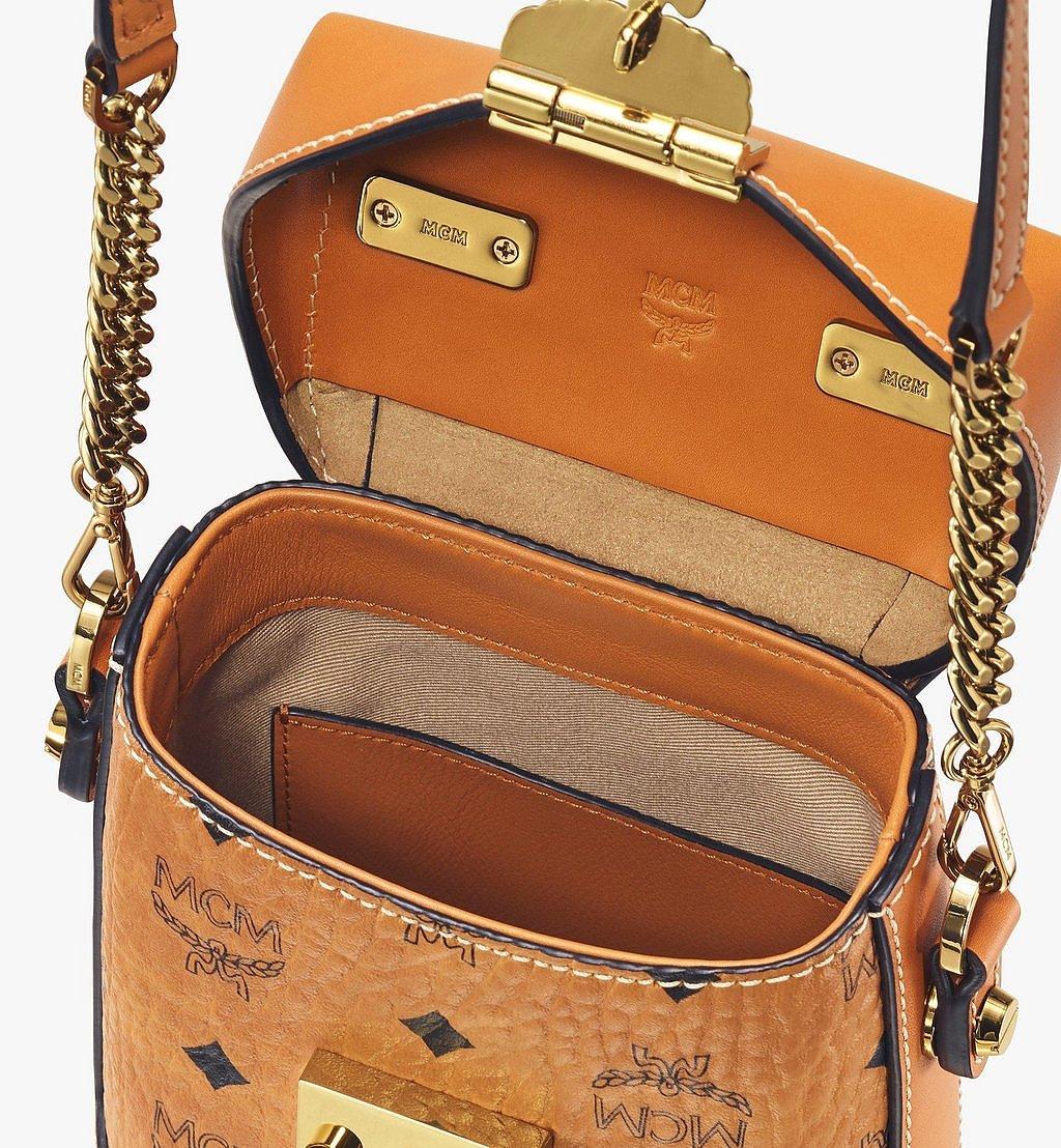 MCM Soft Berlin Crossbody-Tasche in Visetos Cognac MWR9ABF14CO001 Noch mehr sehen 3