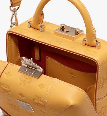 MCM Soft Berlin Crossbody Bag in Monogram Leather Alternate View 4