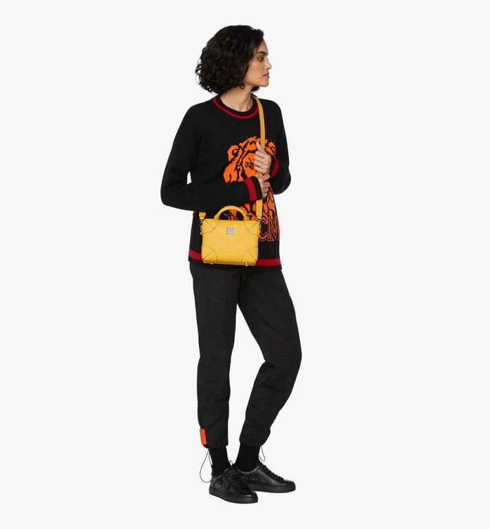 MCM Soft Berlin Crossbody Bag in Monogram Leather Alternate View 5