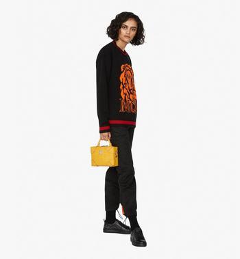MCM Soft Berlin Crossbody Bag in Monogram Leather Alternate View 6