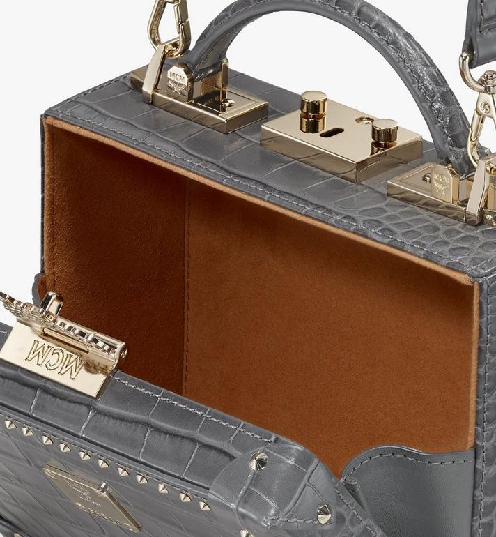 MCM Berlin Crossbody Bag in Embossed Crocodile Alternate View 4