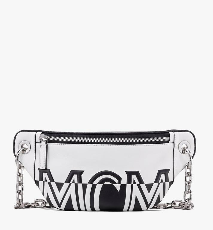 MCM Mini-Crossbody aus Leder mit kontrastierendem Logo Alternate View