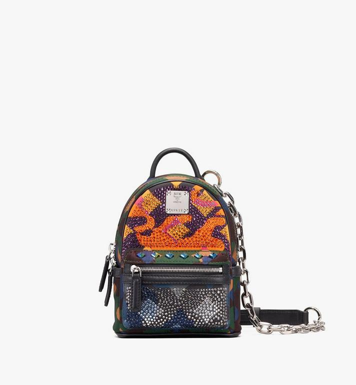 MCM Mini Crossbody in Crystal Lion Camo Alternate View