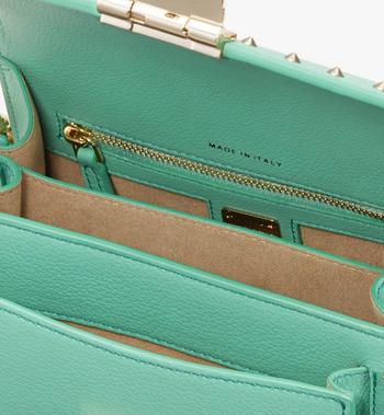 MCM Patricia Crossbody in Studded Park Avenue Leather Alternate View 4