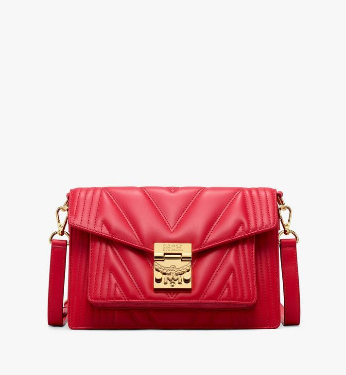 MCM Patricia Crossbody Bag in Quilted Leather Alternate View