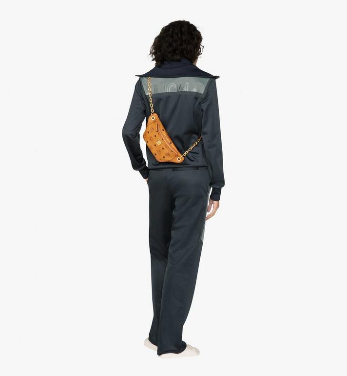 MCM Mini sac à bandoulière Essential en Visetos Alternate View 4