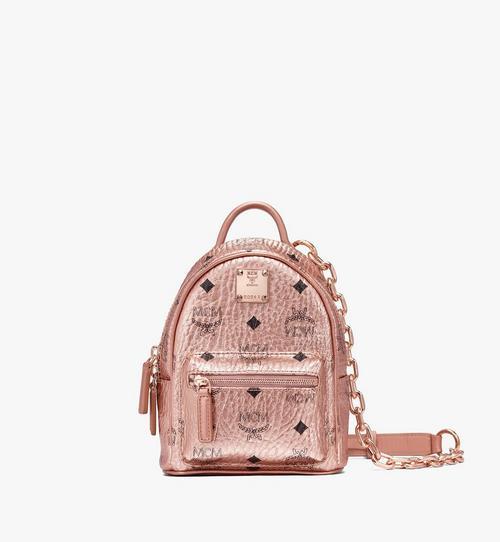Essential Mini Crossbody Backpack in Visetos