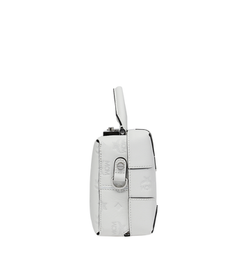 MCM Soft Berlin Crossbody Bag in Monogram Leather Alternate View 3