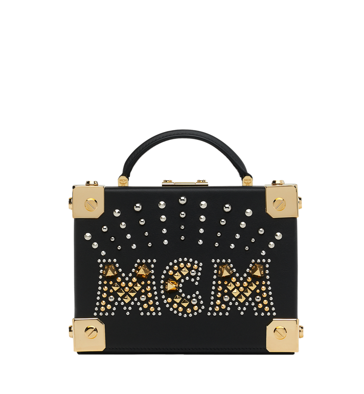 MCM Berlin Crossbody-Tasche aus Radial Stud Leder Alternate View