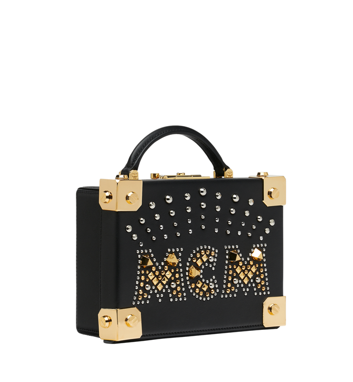 MCM Berlin Crossbody-Tasche aus Radial Stud Leder Alternate View 2