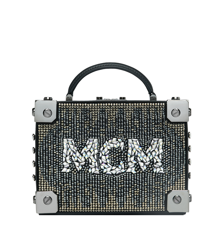 MCM Berlin Crossbody-Tasche in Mosaic Crystal MWR9SBN38BK001 AlternateView