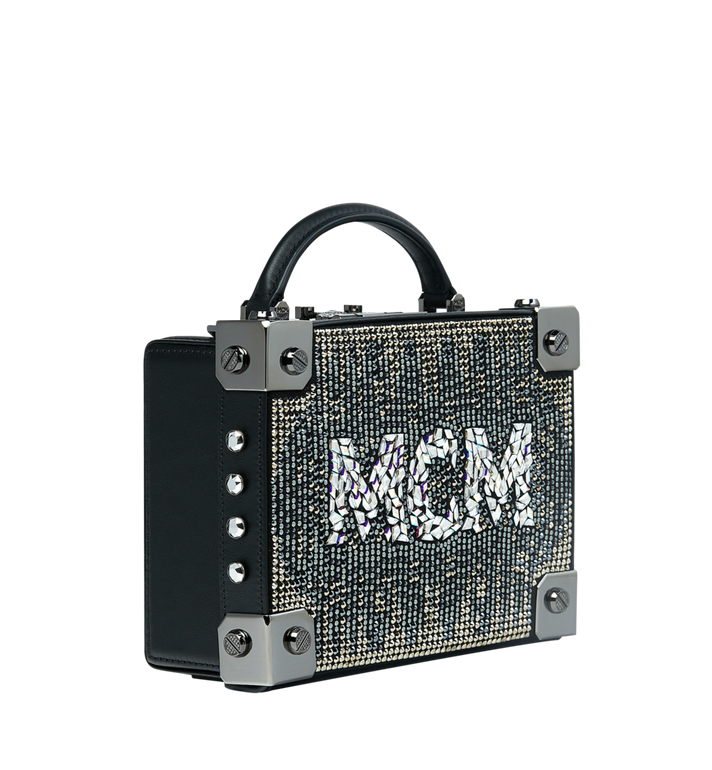 MCM Berlin Crossbody-Tasche in Mosaic Crystal MWR9SBN38BK001 AlternateView2