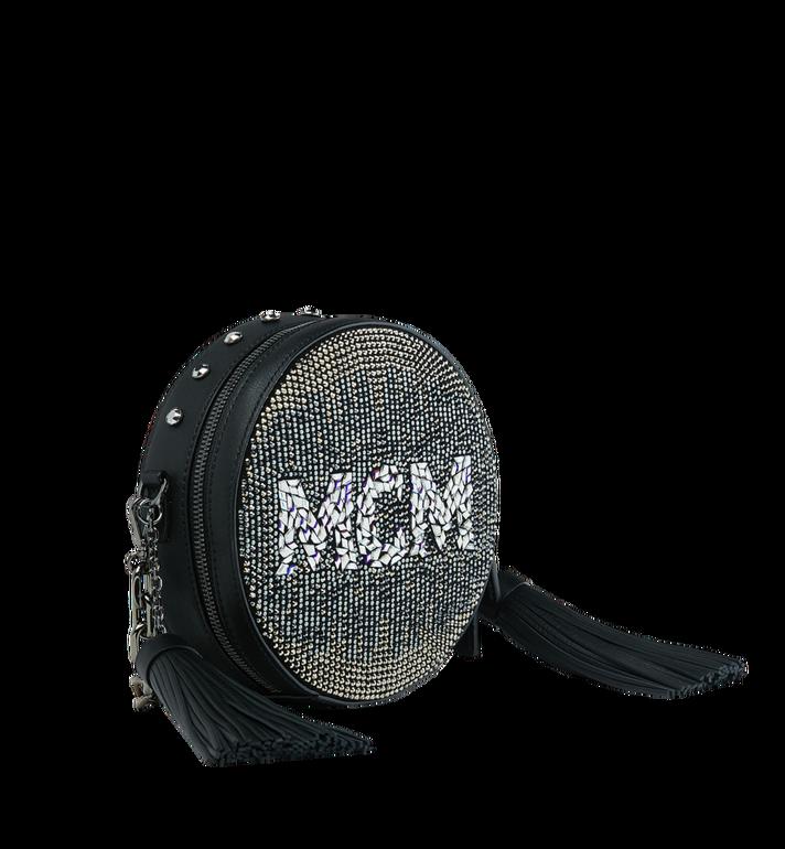 MCM Berlin Tambourine Crossbody in Mosaic Crystal MWR9SBN39BK001 AlternateView2