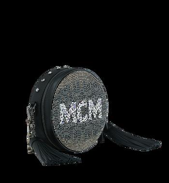 MCM Berlin Tambourine Crossbody in Mosaic Crystal Alternate View 2