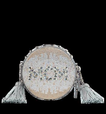 MCM Berlin Tamburin Crossbody-Tasche in Mosaic Crystal Alternate View