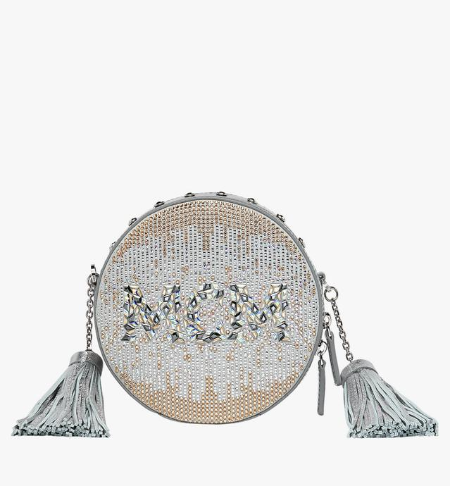 Berlin Tamburin Crossbody-Tasche in Mosaic Crystal