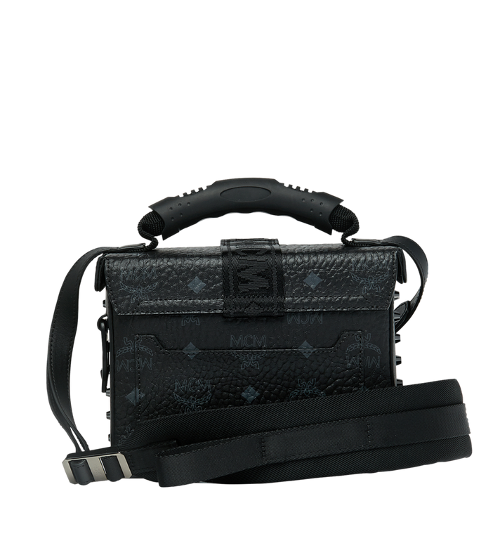 MCM Jemison Crossbody in Visetos Black MWR9SJV23BK001 Alternate View 4