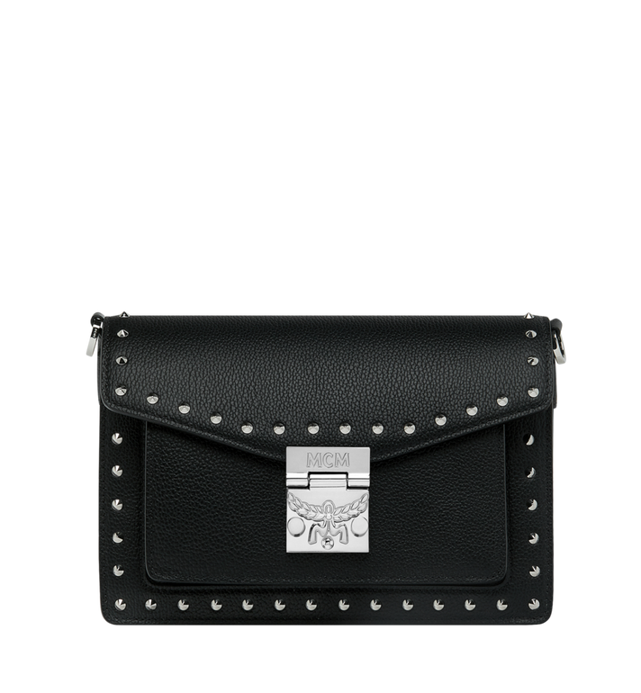 MCM Patricia Crossbody in Studded Outline Leather AlternateView