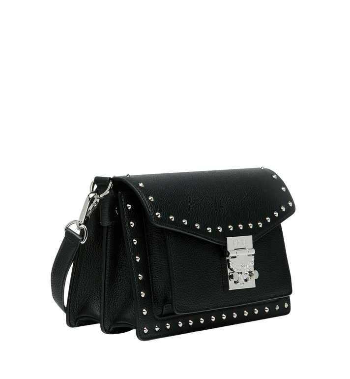 MCM Patricia Crossbody in Studded Outline Leather AlternateView2