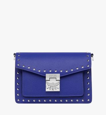 Patricia Crossbody in Studded Outline Leather