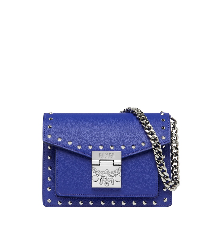 MCM Patricia Crossbody in Studded Outline Leather Alternate View