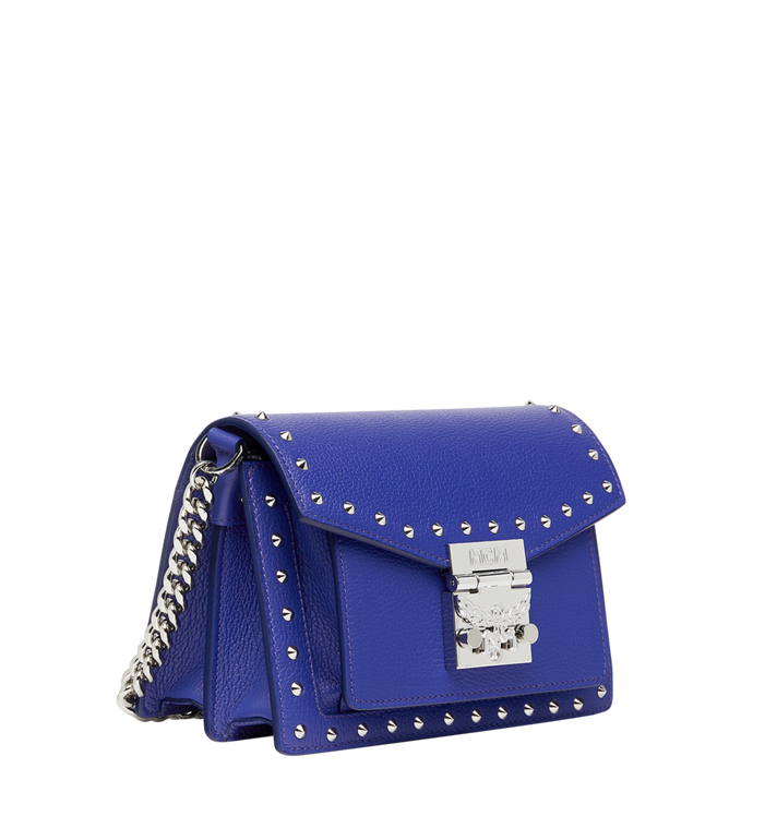 MCM Patricia Crossbody in Studded Outline Leather Alternate View 7