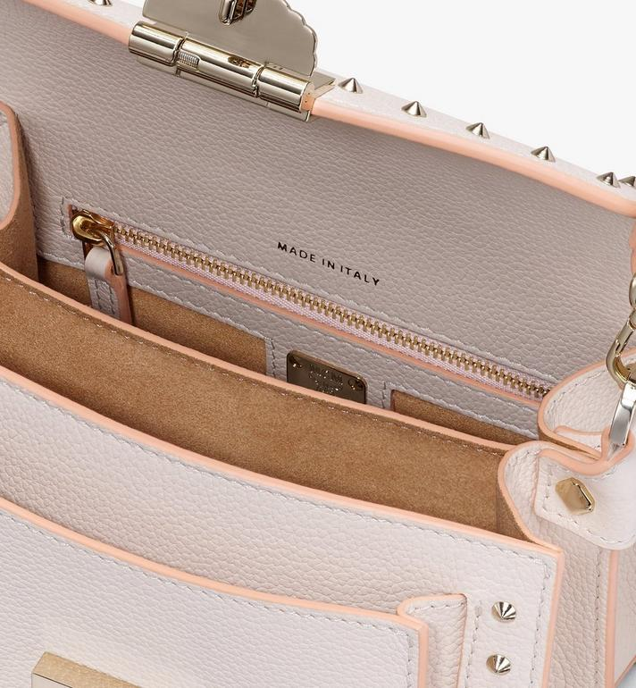 MCM Patricia Crossbody in Studded Park Ave Leather Beige MWR9SPA13IH001 Alternate View 4