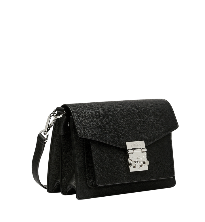 MCM Patricia Crossbody in Grained Leather AlternateView2