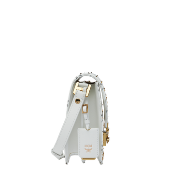 MCM Patricia Shoulder Bag in Studded Outline Visetos MWR9SPA24WT001 AlternateView2