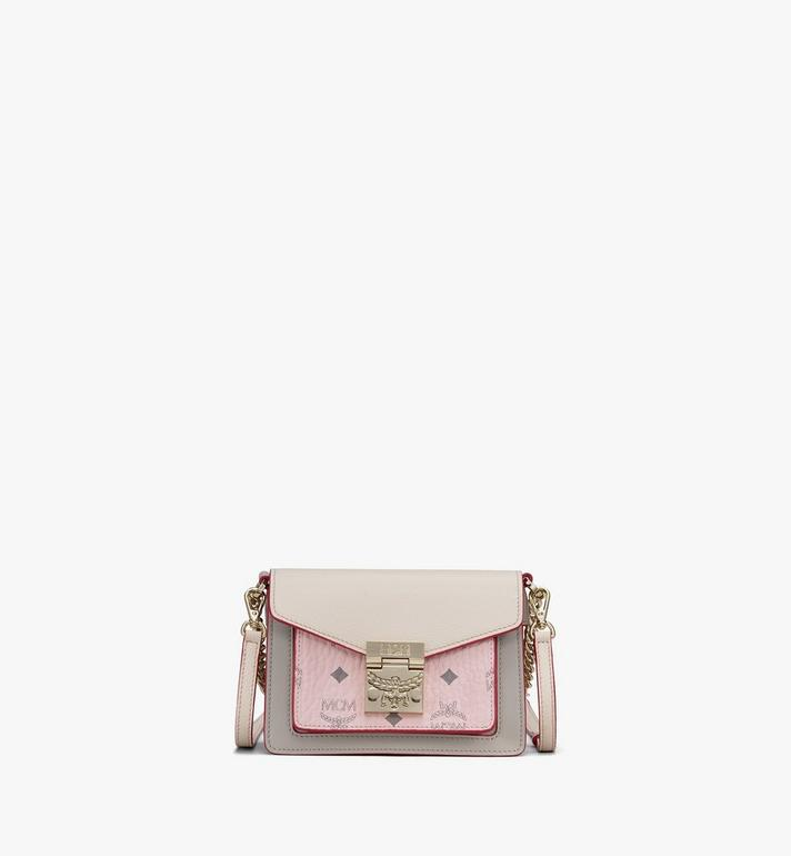 Patrica Crossbody In Color Block Visetos by Mcm