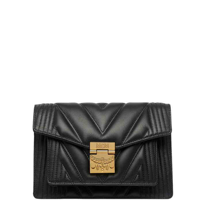 MCM Patricia Crossbody in Quilted Leather Alternate View