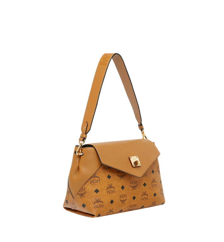 MCM Essential Crossbody-Tasche in Visetos Original Alternate View 2