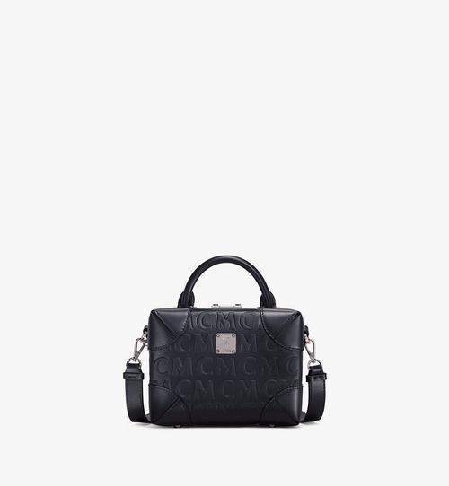 SoftBerlin Crossbody-Tasche aus Leder mit MCM-Monogramm