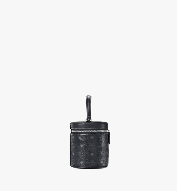 MCM Cylinder Crossbody in Visetos Black MWRAACG01BK001 Alternate View 2
