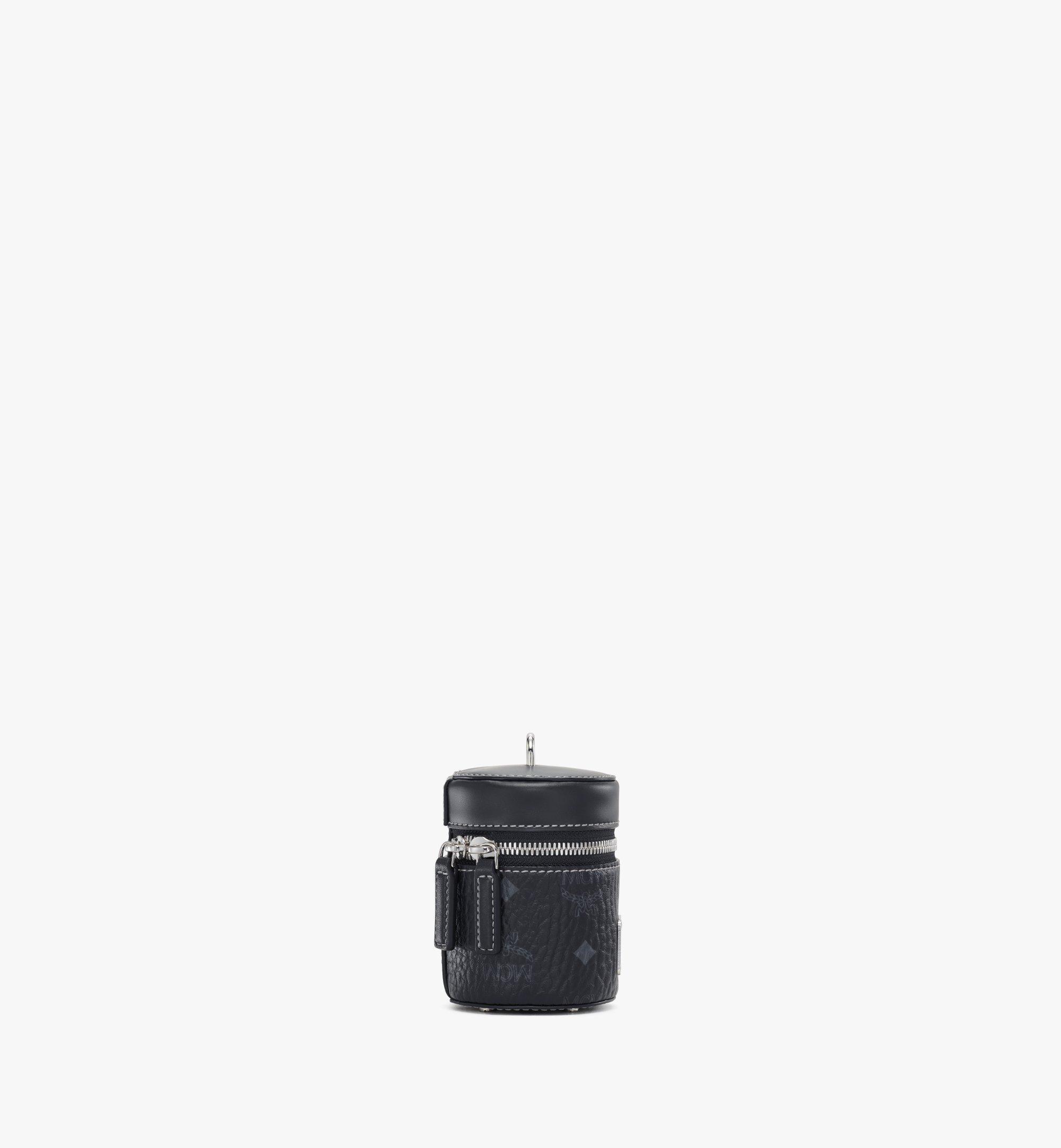 MCM Visetos圆柱形斜挎包 Black MWRAACG03BK001 更多视角 1