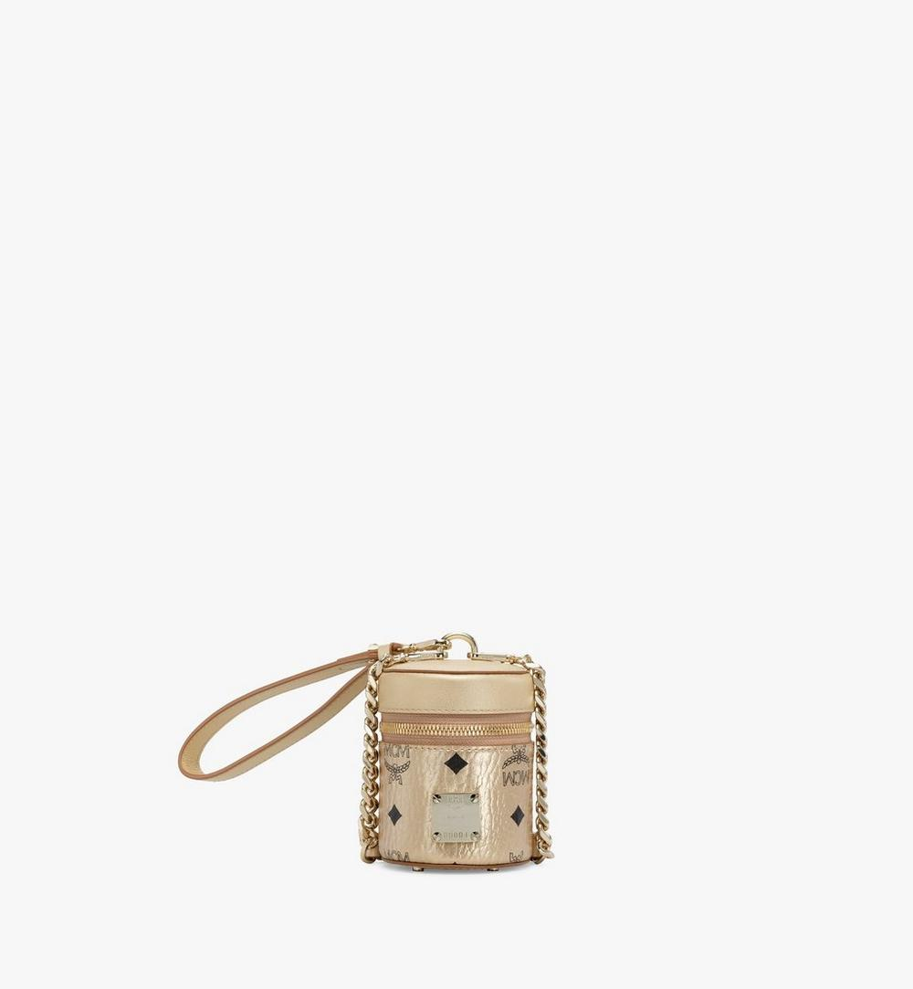 Cylinder Crossbody in Visetos 1