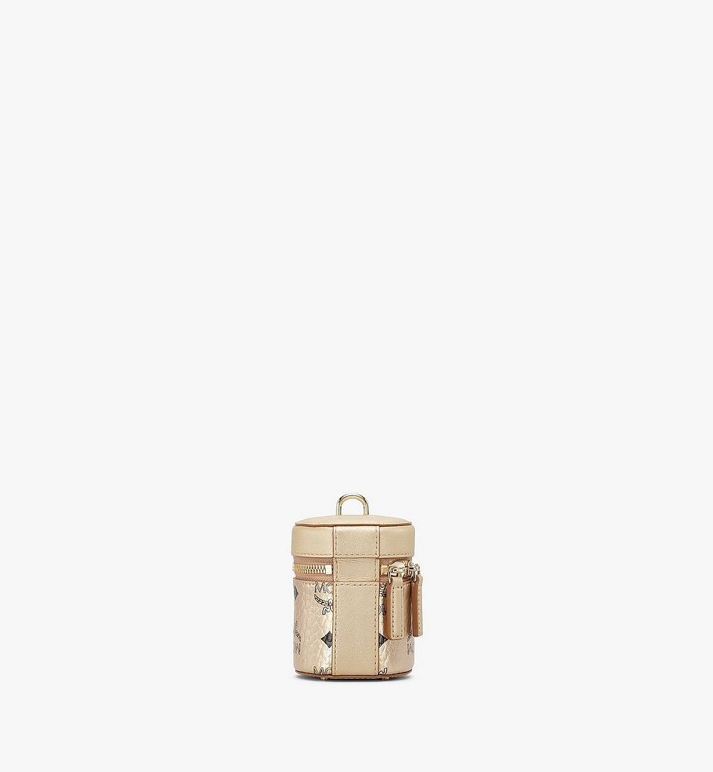 MCM Cylinder Crossbody in Visetos Gold MWRAACG04T1001 Alternate View 3