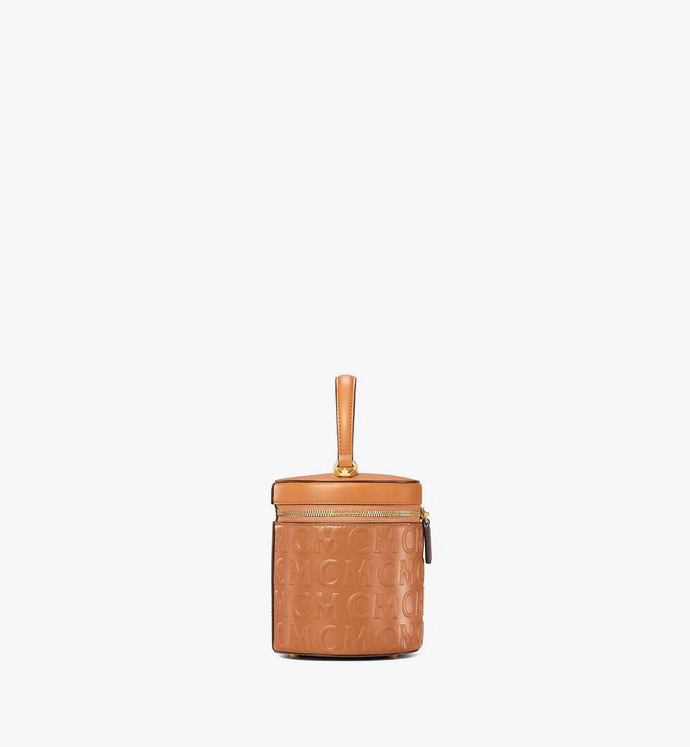 MCM MCM经典花纹皮革圆筒斜挎包 Cognac MWRAACG05CO001 更多视角 1
