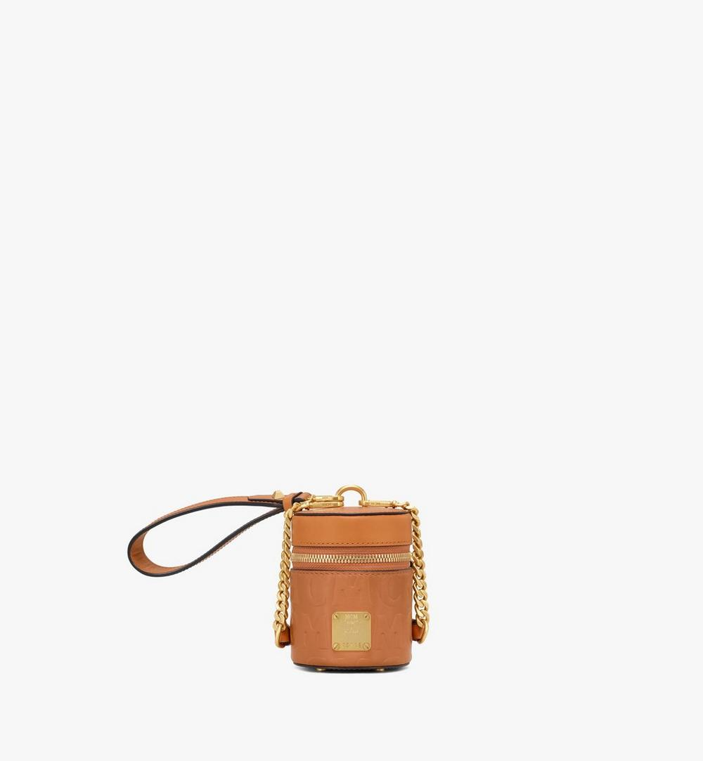 Cylinder Crossbody in MCM Monogram Leather 1
