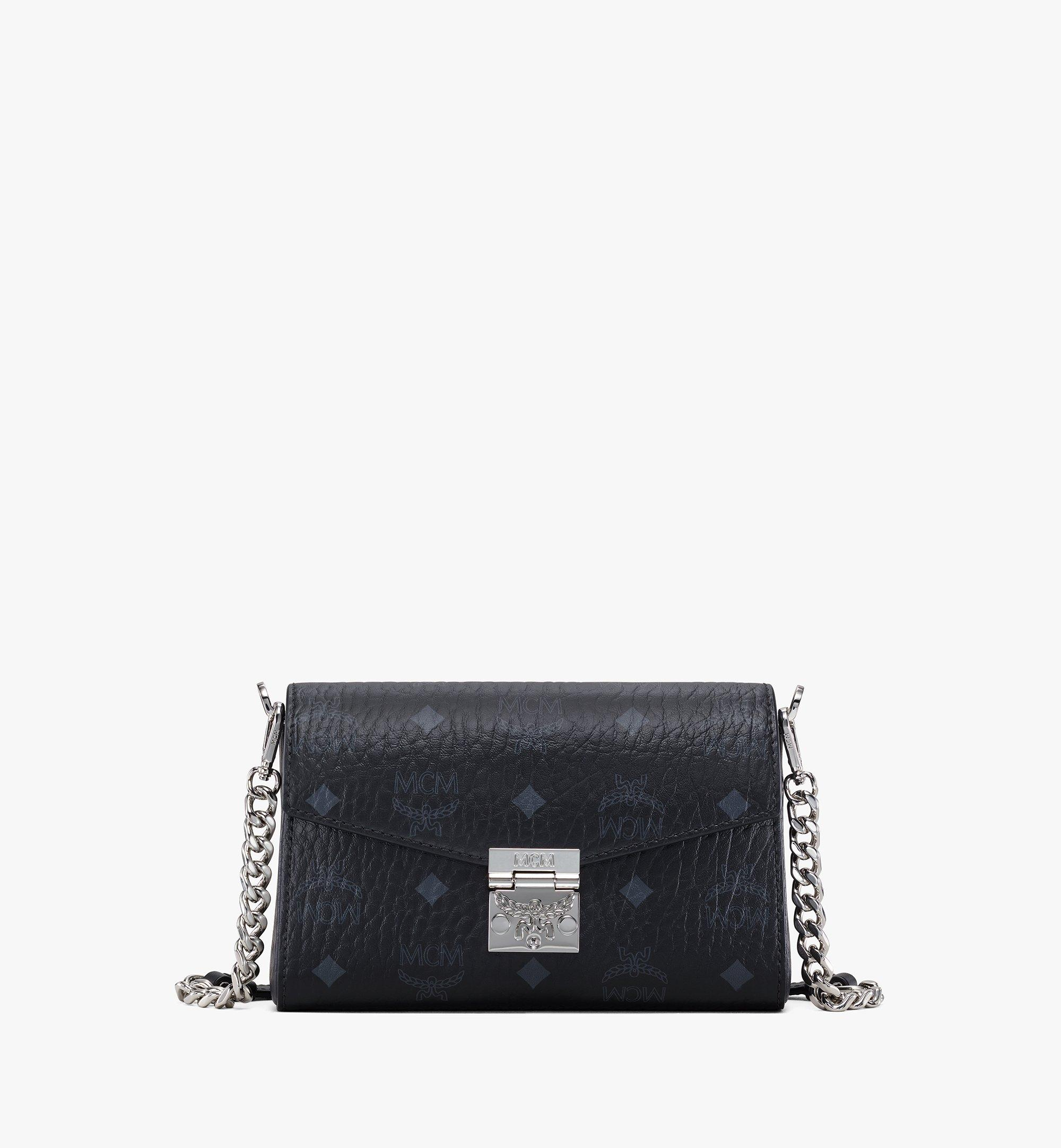 MCM Millie Crossbody-Tasche in Visetos Black MWRAAME03BK001 Noch mehr sehen 1